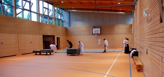 Dojo-Halle in Esslingen Liebersbronn