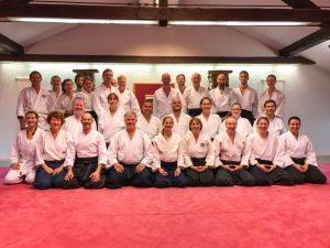 Gruppenfoto vom 4-Tagesseminar mit Jan Nevelius vom 7.09.-10.09.2017