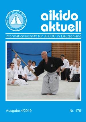"""Neues """"aikido aktuell"""" 4/2019 ist erschienen"""
